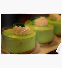 key lime mousse pie Poster
