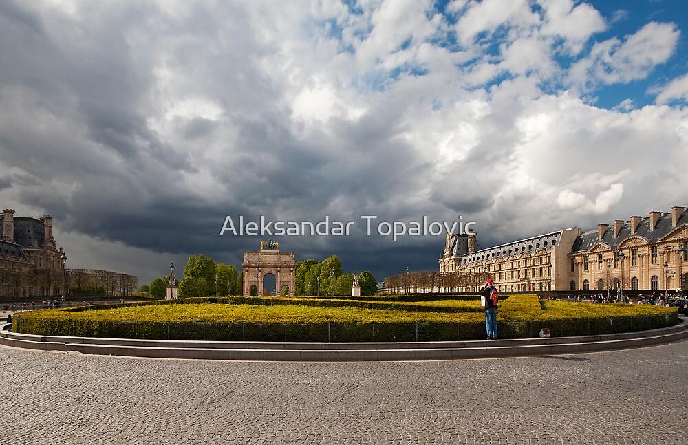 Louvre by Aleksandar Topalovic