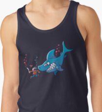 Sharks are Furious, Stop Finning! Men's Tank Top