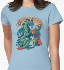 Book Wyrm Women's Fitted T-Shirt