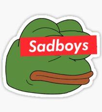 rare pepe sadboy Sticker