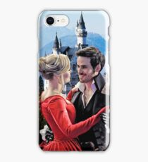 Captain Swan Fairy Tale Watercolor Design 2 iPhone Case/Skin