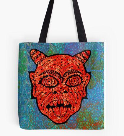'Handsome Devil Mask #2' Tote Bag