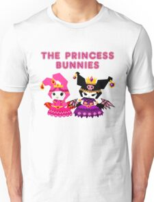 Princess Bunnies  Unisex T-Shirt