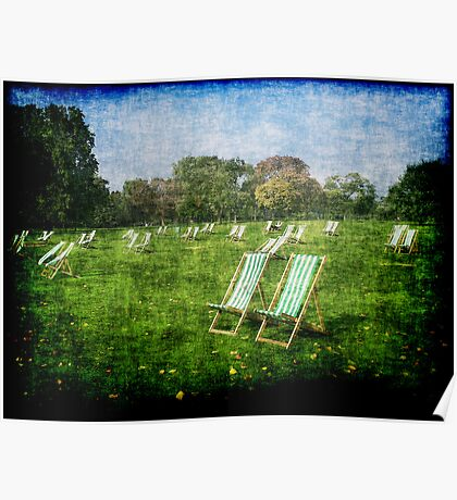 Folding Chairs Poster