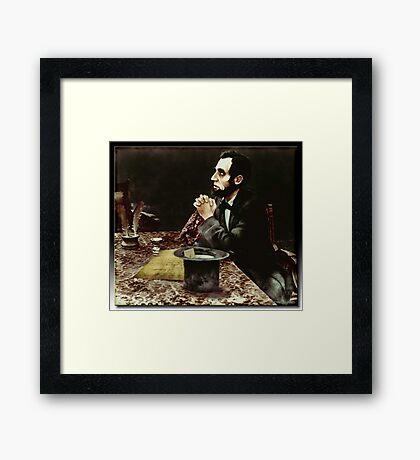 """""""Oh Lord...Please Help Me..."""" Framed Print"""