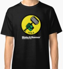 Blake & Banner Demolitions Co. (Big Logo White Text) Classic T-Shirt