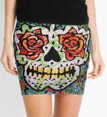 'Sweet Sugar Skull #1 Mini Skirt