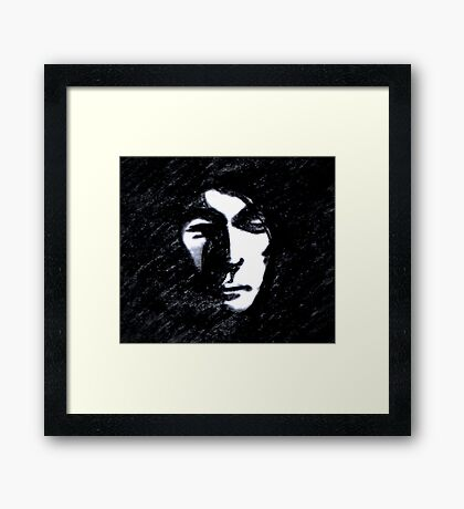 Burnt Out & Living in Shadows  Framed Print