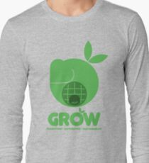 Oxfam: Grow (Design Two) Long Sleeve T-Shirt