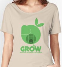 Oxfam: Grow (Design Two) Women's Relaxed Fit T-Shirt