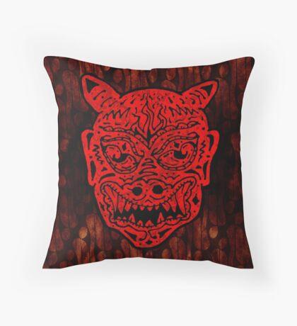 Handsome Devil Mask #1 Throw Pillow