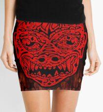 Handsome Devil Mask #1 Mini Skirt