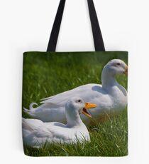 Quack quack quack, quack quack quack Tote Bag