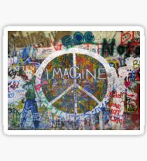 Imagine Sticker