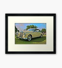 1960 Mercedes 300 Hardtop Sedan Framed Print