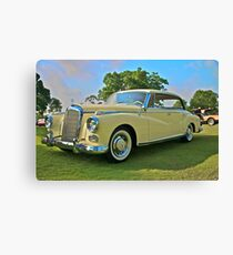 1960 Mercedes 300 Hardtop Sedan Canvas Print