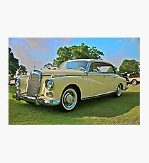 1960 Mercedes 300 Hardtop Sedan Photographic Print