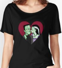 Lily & Herman Munster Women's Relaxed Fit T-Shirt