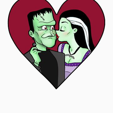 Lily & Herman Munster by BeccaW