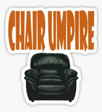 chair umpire - tennis Sticker