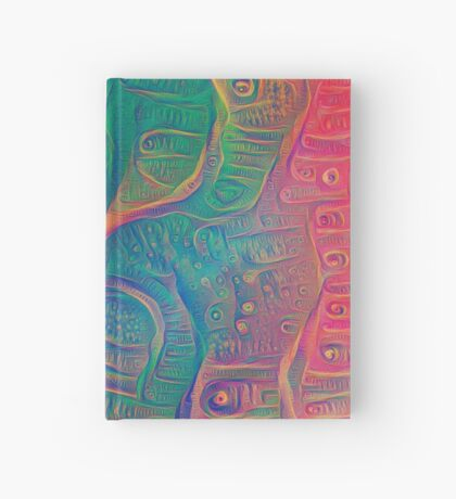 DeepDream Tomato Steelblue 5x5K v3 Hardcover Journal