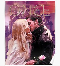 Captain Swan Camelot Watercolor Design 1 Poster