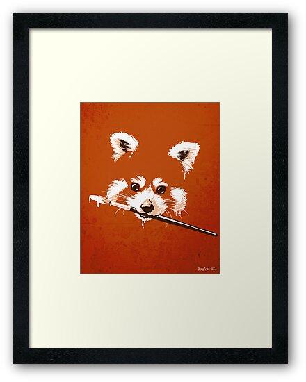 Ailuridae by Nathan Davis