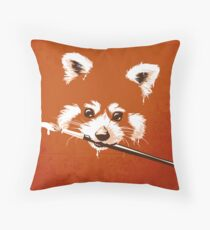 Ailuridae Throw Pillow