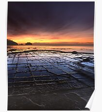 """Tessellated Pavement"" ∞ Eaglehawk Neck, Tasmania - Australia Poster"