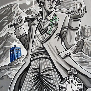 The Fifth Doctor  by rainesz