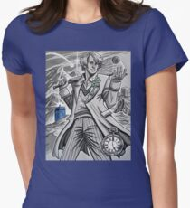 The Fifth Doctor  Women's Fitted T-Shirt
