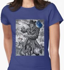 The Fourth Doctor Women's Fitted T-Shirt