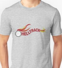 Hell Track Logo From the 80's Movie Rad  T-Shirt