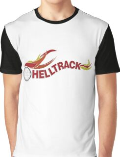 Hell Track Logo From the 80's Movie Rad  Graphic T-Shirt