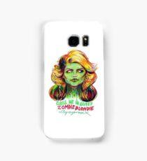 Zombie Blondie Samsung Galaxy Case/Skin