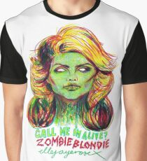 Zombie Blondie Graphic T-Shirt