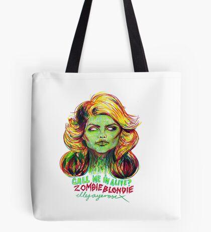Zombie Blondie Tote Bag