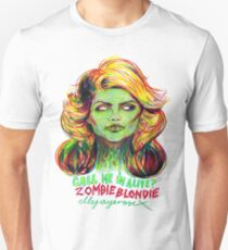 Zombie Blondie Unisex T-Shirt