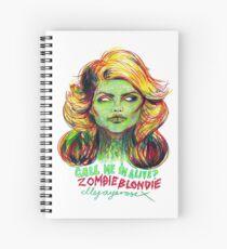 Zombie Blondie Spiral Notebook