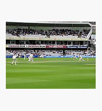 Cricket at Lord's Photographic Print