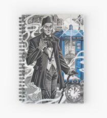 The First Doctor Spiral Notebook