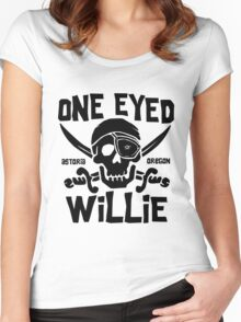 One Eyed Willie Women's Fitted Scoop T-Shirt
