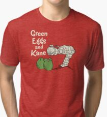 Green Eggs and Kane Tri-blend T-Shirt