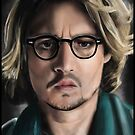 Johnny Depp by stevencraigart