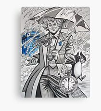 The Sixth Doctor Canvas Print