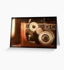 Vintage Camera - Argus C3 Greeting Card