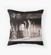 Fairytale cottage Throw Pillow