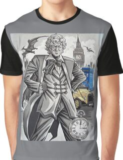 The Third Doctor Graphic T-Shirt