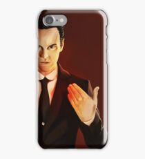 I will burn your phone out of you iPhone Case/Skin